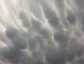 Bijzondere wolken te zien boven Bodegraven
