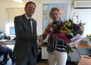 Burgemeester feliciteert winnaars Sterkste Schakel Trofee