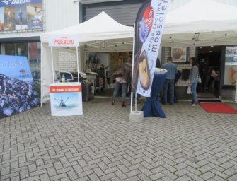 Schaal- en schelpdieren demo bij Visgilde Teun van der Toorn