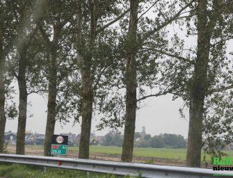 Donderdag 15 oktober snelheid naar 130 kilometer per uur van De Meern naar Reeuwijk