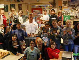 Lekkermakkelijk.nl deelt spelletjes uit op basisscholen in Bodegraven