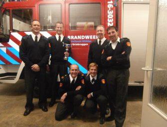 Brandweer Driebruggen behaalt 3e plaats bij regionale finalewedstrijd