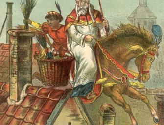 Sinterklaas en de hartjes piet.