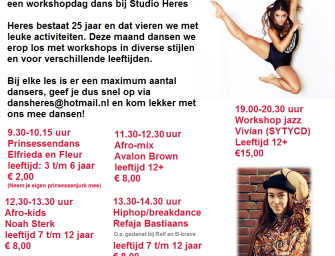 Workshop dag bij Heres