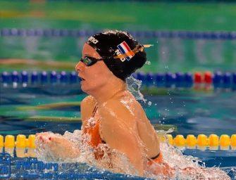Bodegraafse pakt tweede en derde plek op het Open NK zwemmen