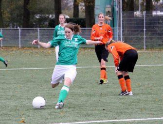 SVO Groene Hart Ladies VR1 houdt punt over aan topper tegen Sportlust VR1