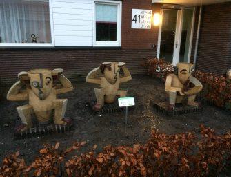 Kunstwerken verhuizen naar nieuwbouw terrein in Reeuwijk