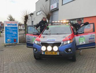 Team Unique rijdt ruim 7000 km in 7 dagen naar Noord-Scandinavië en terug