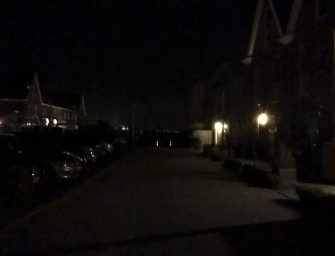 De donkere dagen zijn in Weideveld nu wel heel erg donker…..