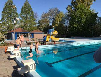 Opening nieuw seizoen bij Zwembad de Fuut in Reeuwijk