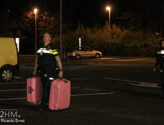 Twee onbeheerde koffers bij McDonalds aan Goudseweg in Bodegraven