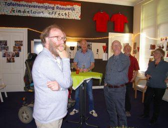 40 jarig bestaan tafeltennisvereniging van Reeuwijk