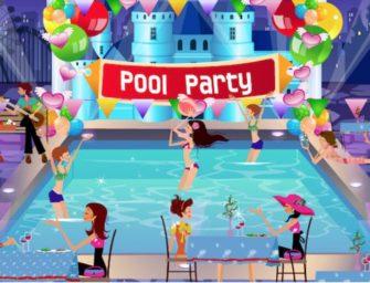 Groot feest opening seizoen zwembad De Fuut in Reeuwijk