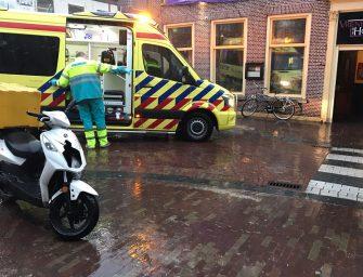 Aanrijding personenauto en scooter in Bodegraven