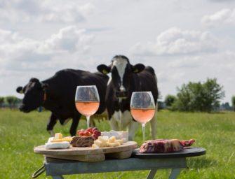 Maak kans op een diner voor 2 tijdens Kaas & Koeien in 't Weiland