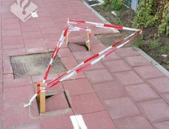 Fietser opgepast in Reeuwijk!