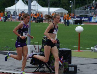 Tirza van der Wolf 4e op 5000m NK Atletiek