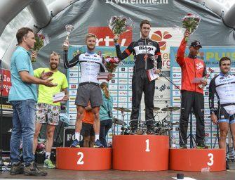 Sven Strijk wint halve triathlon, goede zaken TTB divisieteams