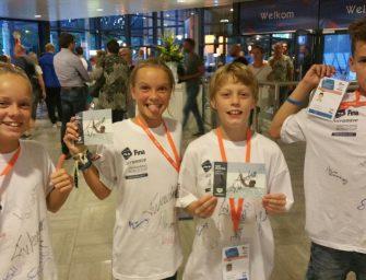 Vier BZ-ers in actie tijdens Swimming World Cup in Eindhoven