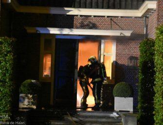 Felle brand in meterkast van woning aan de Reewal in Reeuwijk