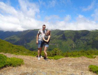 Ilona en Pascal uit Nieuwerbrug dagen vast door harde wind op Madeira