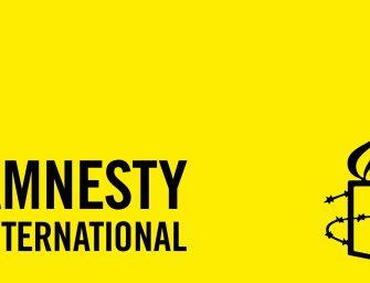 Collecte voor Amnesty International