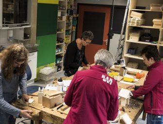 Cliënten Ipse de Bruggen verzorgen workshops bij Karwei