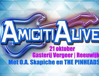 Evenement AmicitiAlive 21 oktober 2017