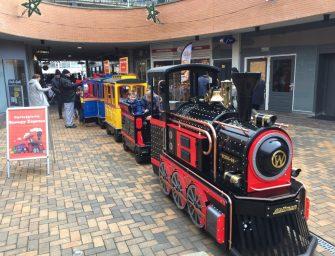 Mini Express rijdt zaterdag 28 oktober tijdens Superzaterdag door Bodegraven