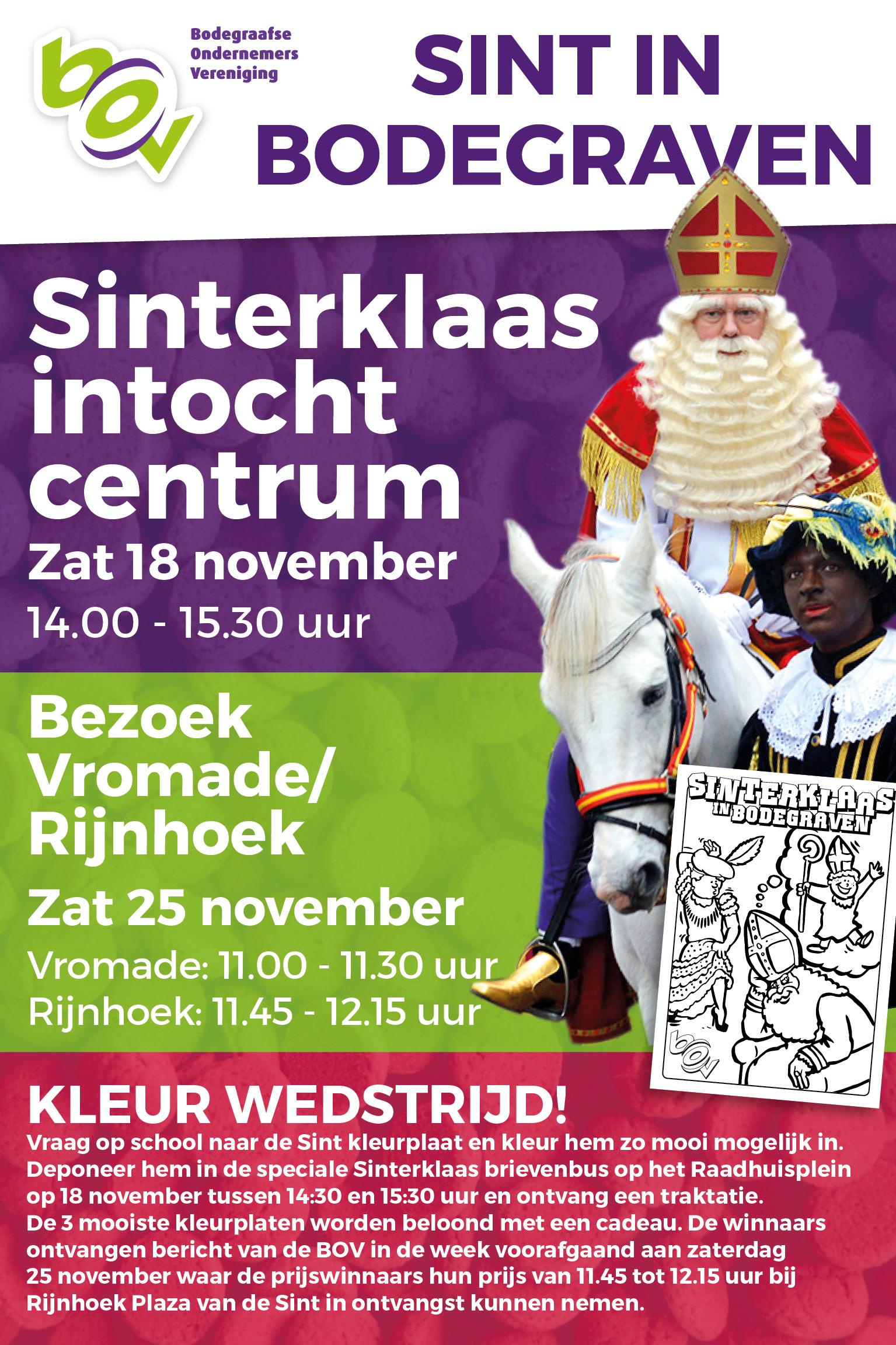 Sinterklaasintocht In Bodegraven Rebonieuws Nl