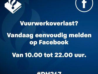 Vuurwerkoverlast melden op Facebook