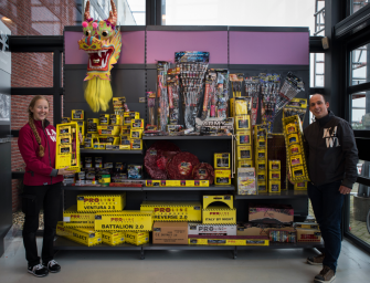Het vuurwerkpakket bij Karwei Bodegraven t.w.v. € 99.99 is gewonnen door…