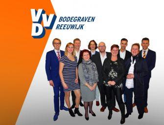 VVD Bodegraven-Reeuwijk presenteert team 2018 – 2022