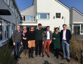 Staatssecretaris van Ark bezoekt Reeuwijk-Brug