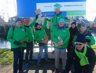 GroenLinks Bodegraven-Reeuwijk gaat opnieuw deuren langs