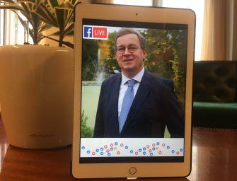 Facebook live-sessie met lijsttrekker SGP