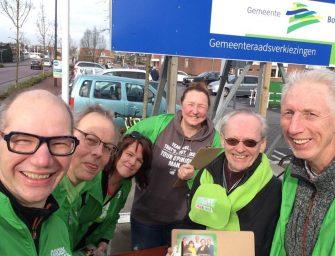 Kandidaten van Groen en Rood op mini tournee