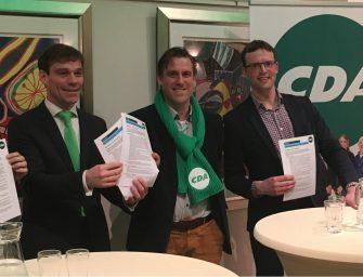 CDA overhandigt Manifest Mobiliteit aan Tweede Kamerfractie