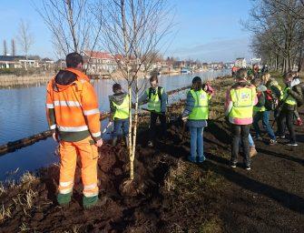 GroenLinks Bodegraven-Reeuwijk op bezoek bij de nationale boomplantdag