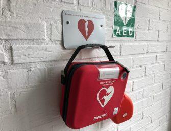 Julie Windhorst en Renaldo van Poelgeest willen eigen AED
