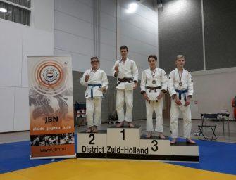 Gianluca en Storm tweede op Zuid Hollandse Kampioenschappen judo