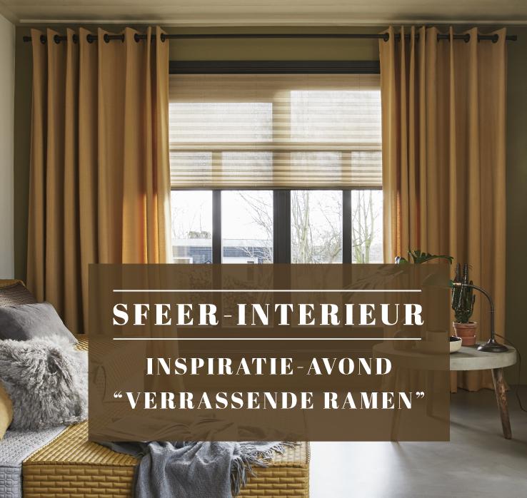 Inspiratieavond verrassende ramen for Interieur nederland