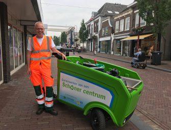 Bodegraafse dorpschoonmaker komt naar Reeuwijk