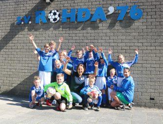 Rohda'76 verzorgt voetbaldagen voor 900 basisschoolleerlingen