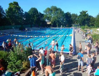 Zwem4daagse in Bodegraven van 12 t/m 15 juni 2018