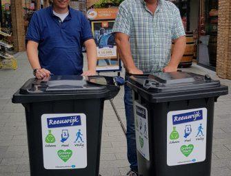Afvalbakken voor winkelcentrum Miereakker