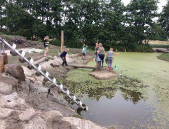 Lekker spelen in natuurspeeltuin 'Bij de Wiericke'