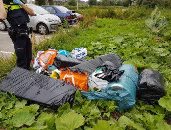 Politie vindt delen van hennepkwekerij in Reeuwijk