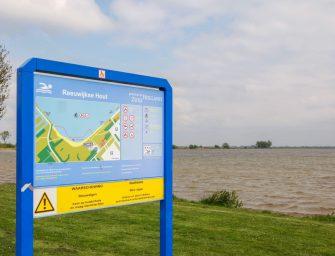 Waarschuwing blauwalg in Reeuwijkse Hout