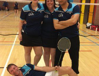 BBS team 1 kampioen badminton!
